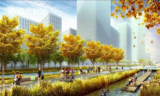 徐汇滨江将建成雨水花园 预计下半年分段向公众开放