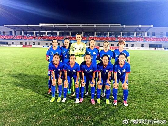 图说:上海女足姑娘 网络图
