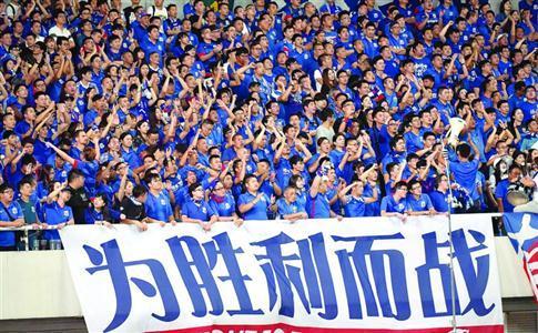本周二,申花就要迎来与山东鲁能的补赛。 /晨报记者 顾力华