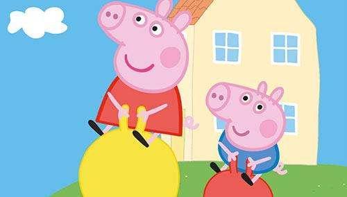 《小猪佩奇》动画片 截屏图图片