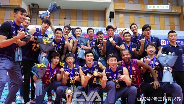 上海男排成就十六冠 5人入选本赛季最佳阵容