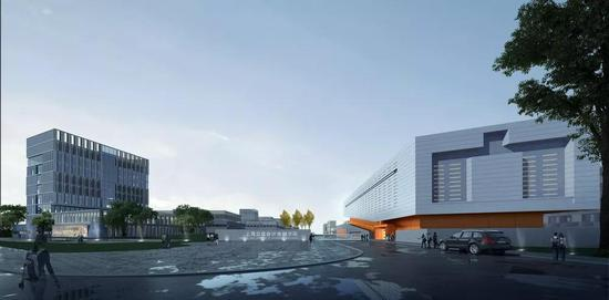上海立信会计金融学院新校区建设进展 打造无围墙大学
