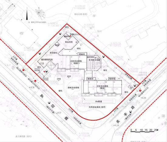 注:本项目规划总平面图以主管部门批准的最终方案为准