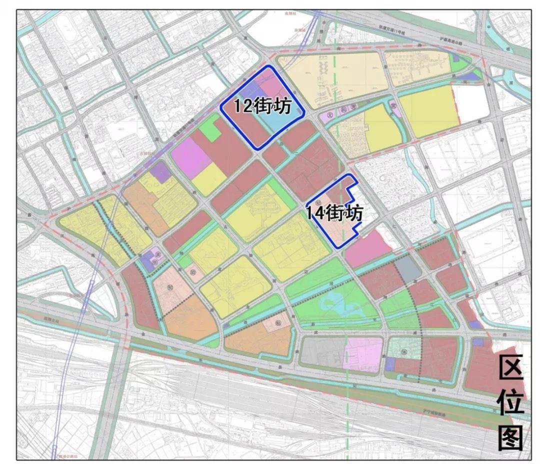 嘉定南翔两处街坊有新规划 调整学校、医院等用地