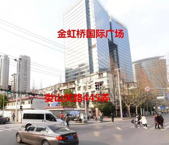 长宁娄山关路445弄老公房将动迁 拟建大型综