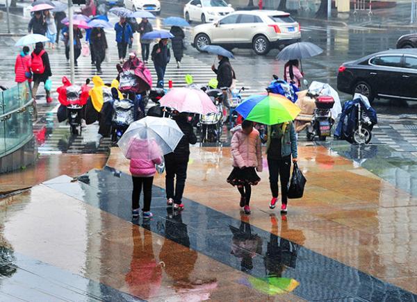 上海今冬90天57天没太阳 连绵阴雨或至3月中下旬才止