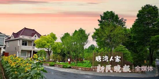 图说:塘湾村创新引入中高端月子会,打造全新的乡村业态。罗泾镇供图
