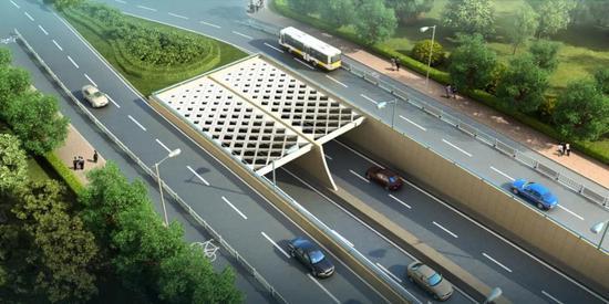 淞沪路三门路下立交工程明起占路施工 配套交通组织一览
