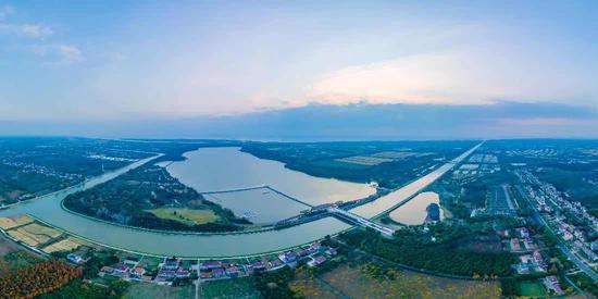 西沙明珠湖景区 本文图均为上海崇明供图