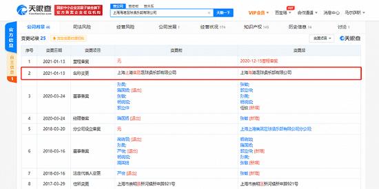 上港俱乐部完成企业名称变更手续 正式更名为上海海港