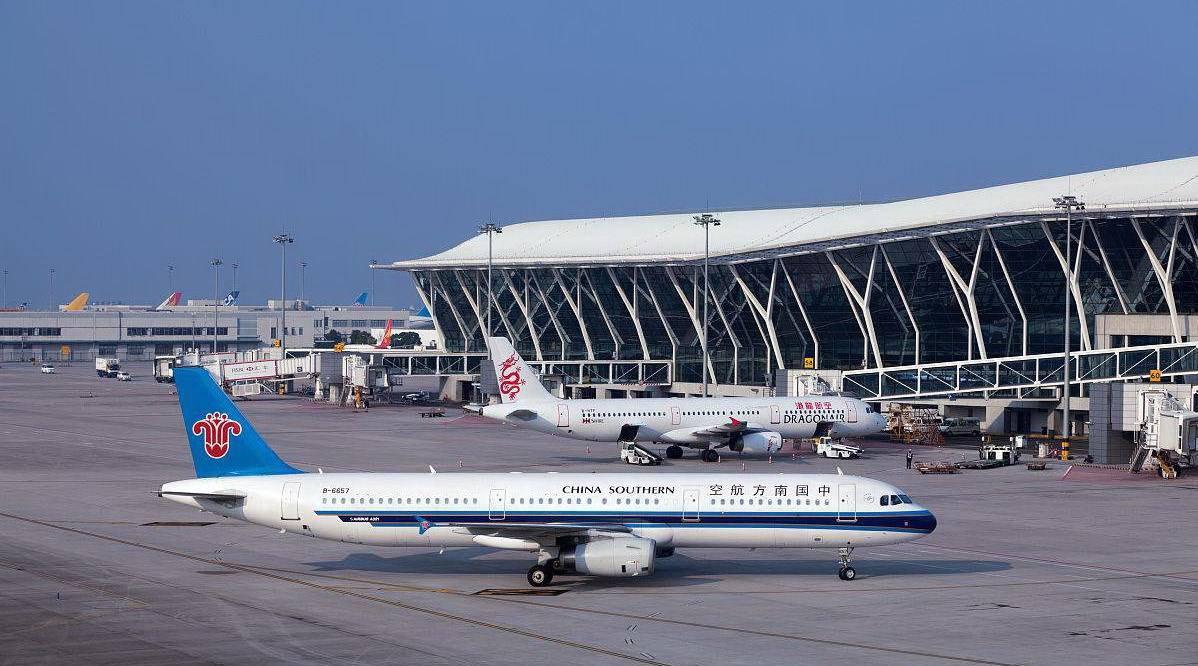 上海浦东国际机场1号取消航班336架次 现已恢复运能