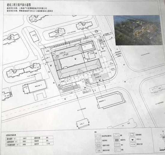 浦东曹路基地南扩区拟建2所幼儿园 设计方案公示