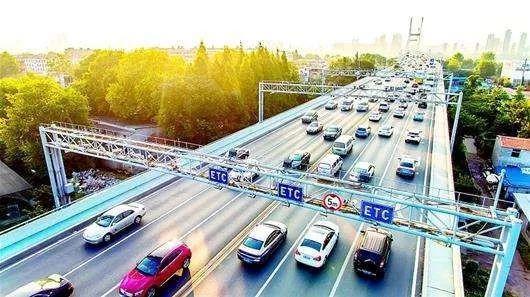 10月31日,全国高速公路ETC门架系统建设和ETC车道改造工程建设已全面完工。交通运输部官网 图