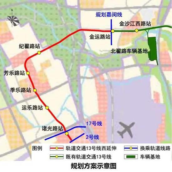 规划方案示意图 上海市交通委官网