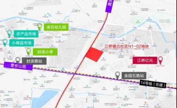 上海嘉定29.27亿元底价出让两宗宅地 旭辉、保利竞得