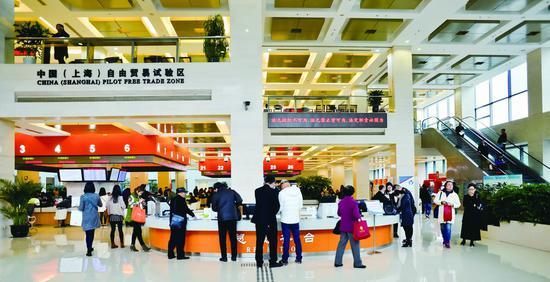 上海自贸区建设大胆闯 328项制度创新成果复制推广全国