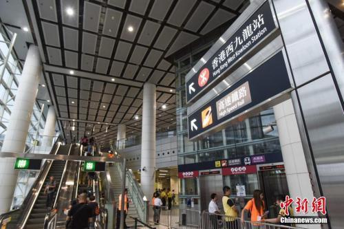 广深港高铁今日全线开通 上海至香港最快8小时17分