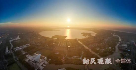 图说:临港新片区 新民晚报记者 陈梦泽/摄