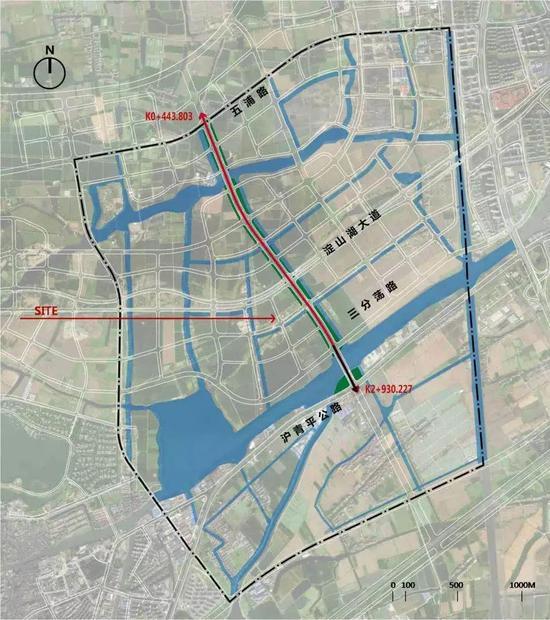 青浦大道A段已基本完工 本周五部分路段通车