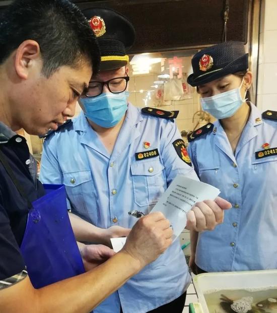 浦东市场监管局严厉打击长江流域非法捕捞