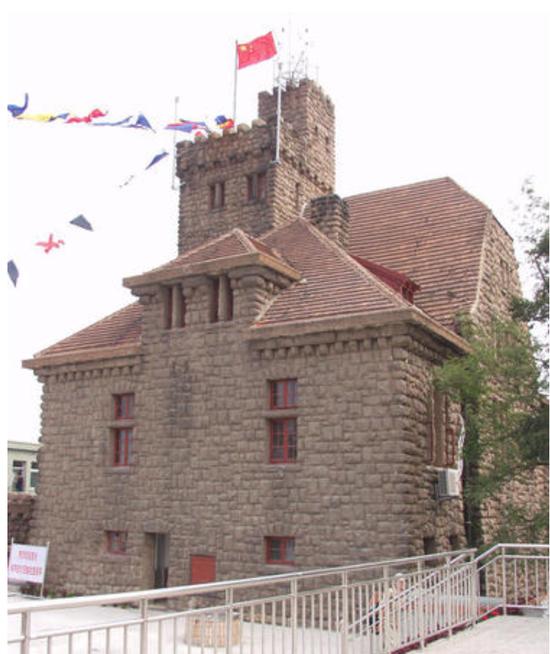 青岛观象台现存建筑