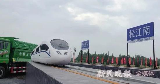 沪苏湖铁路开工 湖州将进入上海30分钟通勤圈