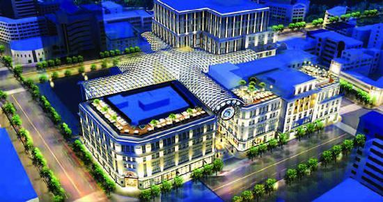 南京路步行街东拓段将迎新风景 最美玻璃穹顶年中亮相