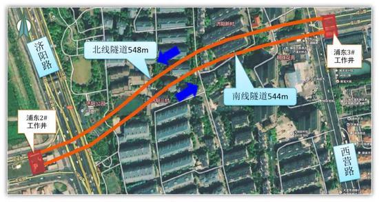 龙耀路越江地道全线构造贯通 有望本年三季度试通车