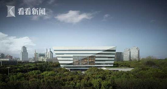 上海图书馆东馆结构封顶 预计2020年竣工2021年试开放