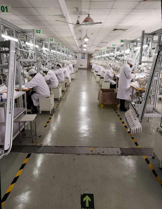 沪制造可轮回N95级别口罩已量产 本周有望实现日产30万