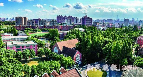 上海象牙塔老建筑的流金岁月