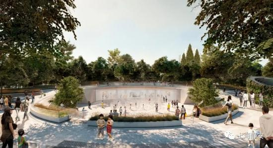 静安寺广场改造工程进入尾声 年底有望开放部分空间