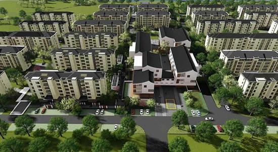上海规模最大农民相对集中居住项目开建 明年底前交付