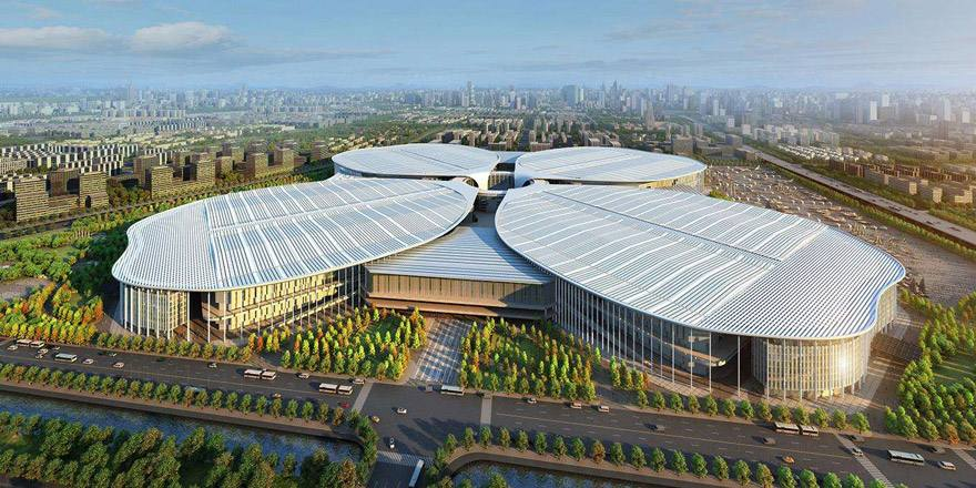 上海进级聪明卫监体系 国度会展中间安装空气检测设备