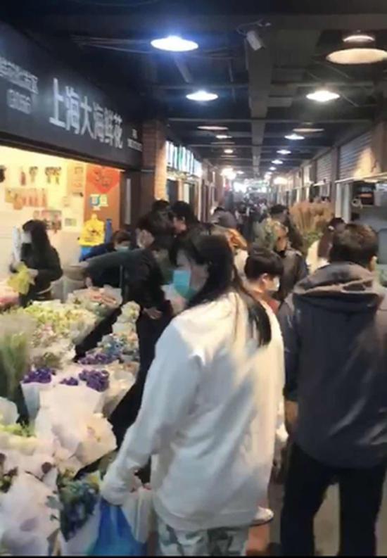 上海复工复产复市井然有序 花市现已全面复市
