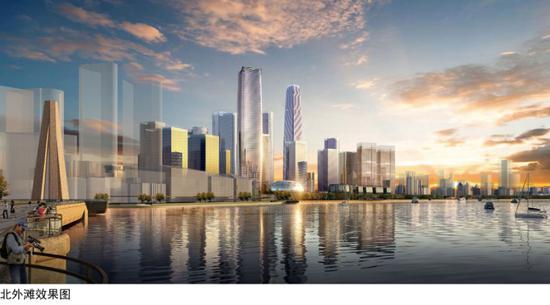 上海北外滩或将建480米新地标 相干筹划草案正在公示