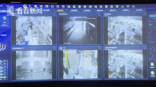 闵行实施24小时智能云监管 覆盖全区千余家食堂后厨