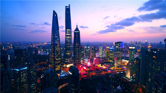 航拍上海 每一幅都是高光时刻