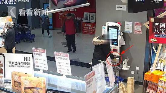 女子以漏扫为掩护 多次盗窃自助超市被刑拘