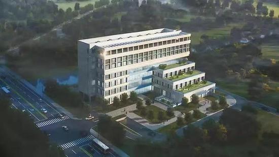 嘉定一所病院开建总建筑面积约14288㎡ 2021年投入应用