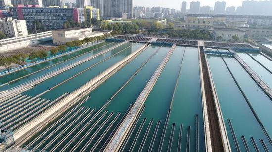 长桥水厂深度处理改造工程现场