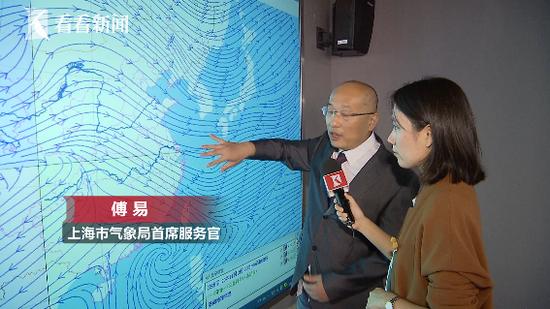 今日夜间冷空气将影响上海 明天气温或将直降9度