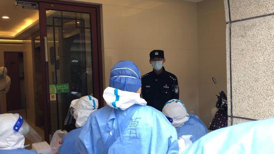 明天华城完成第3次核酸检测 10人警察小队24小时待命