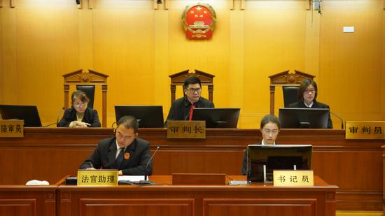 """本文图片均为 """"上海二中法院""""微信公号"""