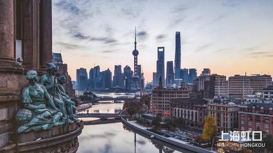 打卡北外滩 在最上海的观景平台与世纪同框