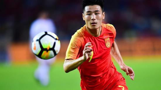 武磊入选亚洲男足近十年最佳阵容 位置不是熟悉的前锋
