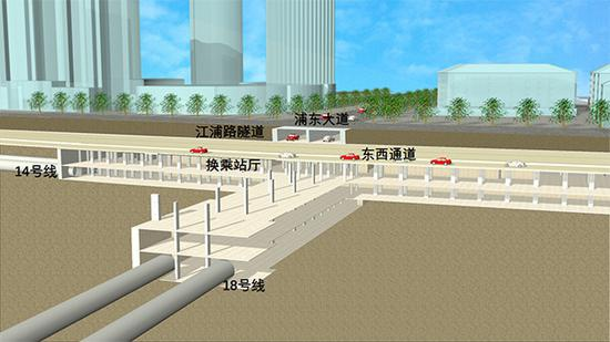 浦东大道新进展:计划今年12月中旬完成地面六车道恢复