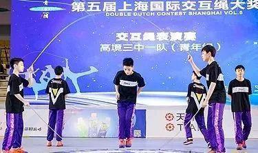 在交互绳表演赛中,今年中国队实力明显上升,风格多样,涌现出数支强队。