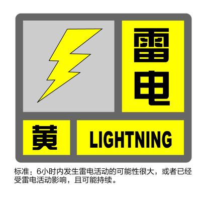 雷电黄色预警发布 灿都可能明晚在上海南部二次登陆