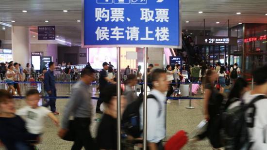 受台风安比影响 今起4天内长三角部分火车票暂停发售